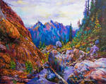 The Secret of the Blue Mountain by Leon Devenice