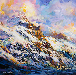 Calling of the Mountains by Leon Devenice