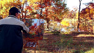 Landscape painter , Fine Artist, Leon Devenice