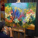 Floral Art, Floral Painting , Leon Devenice