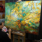 Landscape art, Landcape painting , Leon Devenice