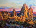 Landscape Painting , Landscape Art ,Leon Devenice
