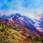 landscape art, landscape painting, Leon Devenice