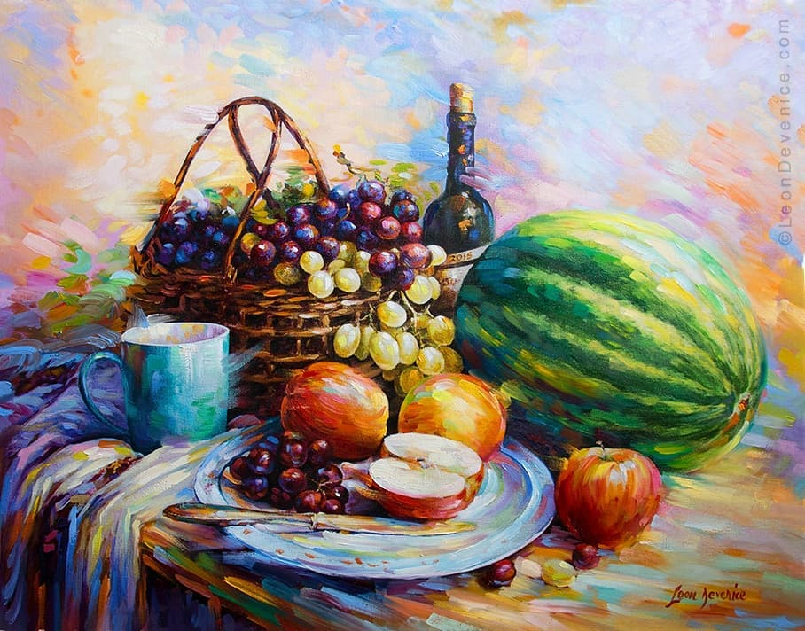 Original oil paintings for sale ,Leon Devenice by leondevenice
