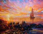 Original paintings for sale , Leon Devenice,
