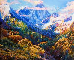 Leon Devenice, Original painting , Landscape art by leondevenice
