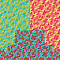 Text-to-Image Encryption Test