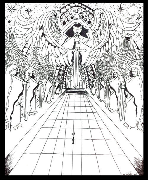 Heaven Gates Drawing Heavens Gate by Saschaette