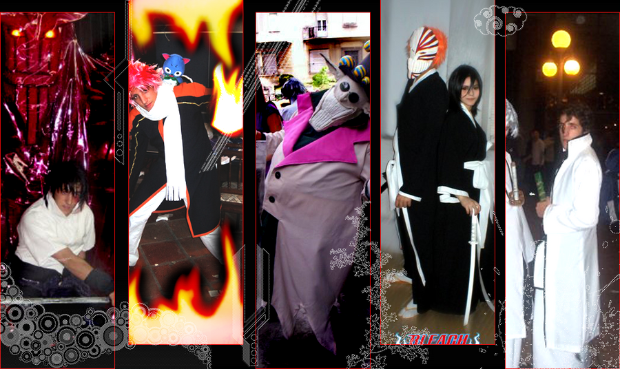 set of wallpapersclass=cosplayers