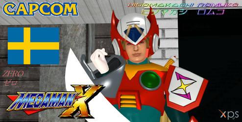 Mega Man: Zero in Dead Or Alive style by CrystalRomuko