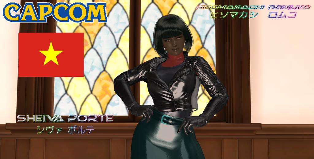 My Capcom OC, Sheiva Porte 2nd Costume by Rouzalos64