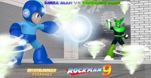 Mega Man 9: Mega Man vs Tornado Man