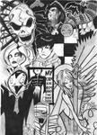 Gerard's Art - b+w
