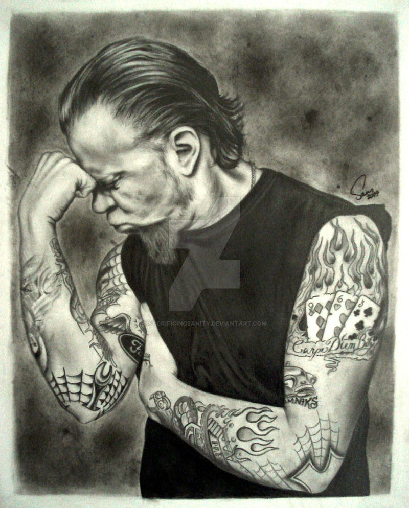 Hetfield by sacrificingsanity