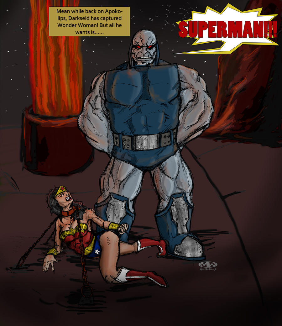 Darkseid takes WonderWoman by MpaX38