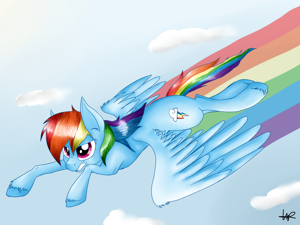 Sonic Rainboom by ShyShyOctavia on DeviantArt