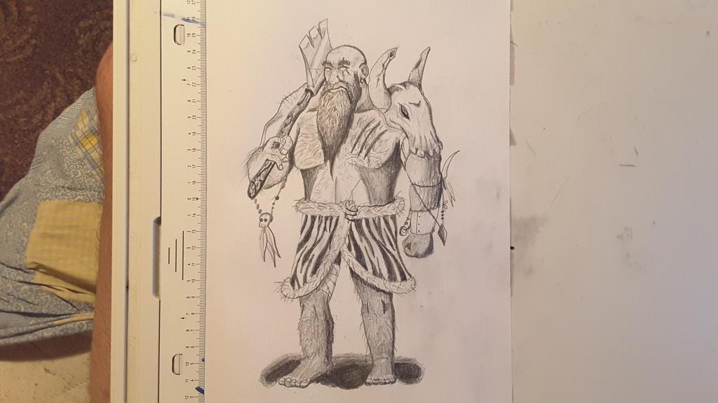 Warrior Dwarf by ShinyLoot