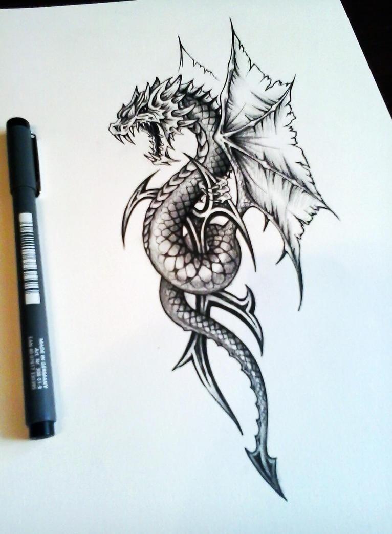 Dragon snake by bobby79Dragon Snake Tattoo