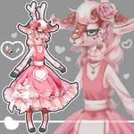 Rose Deer adopt auction - ota [open]