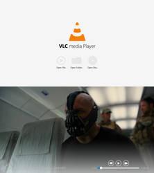 VLC Media Player Windows 8 Concept Design by abdulanabyh