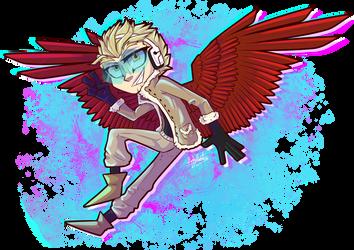 WInged Hero Hawks! by LankyLunatic