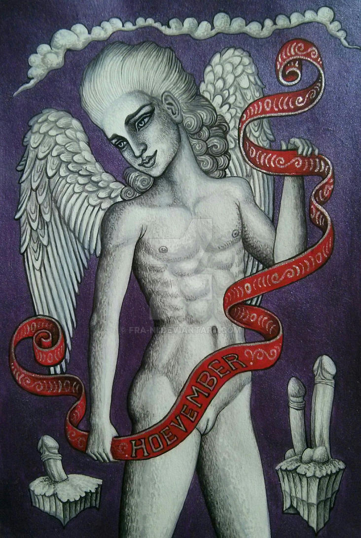 Angel of Hoevember by fra-ni
