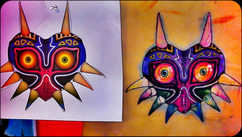 Tattoo practice 001 by unitiveodolwa on deviantart for Tattoo practice pig skin