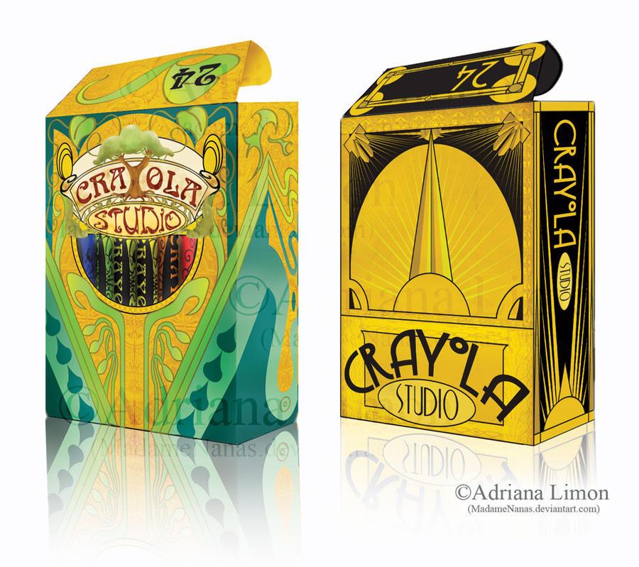 Crayola Project Boxes by madamenanas