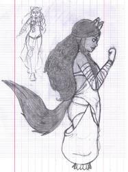 Old drawing - Viris