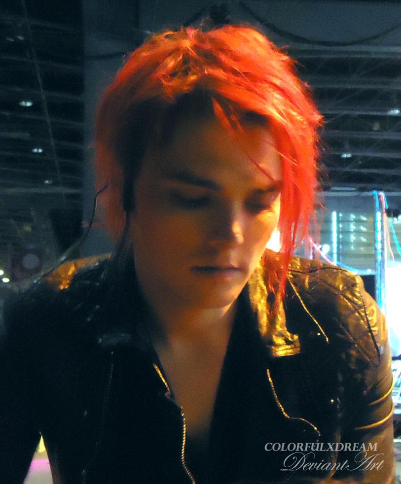 Gerard Way by ColorfulxDream
