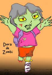 Dora de Zombi by fathskie