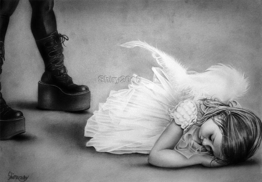 Fallen Angel by sheeroo3