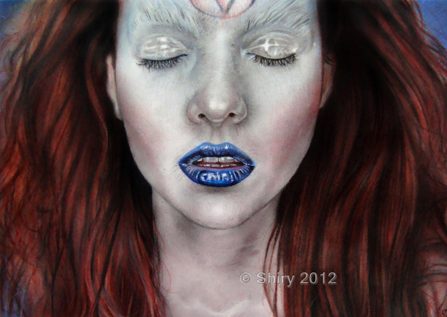 Blue Lips by sheeroo3