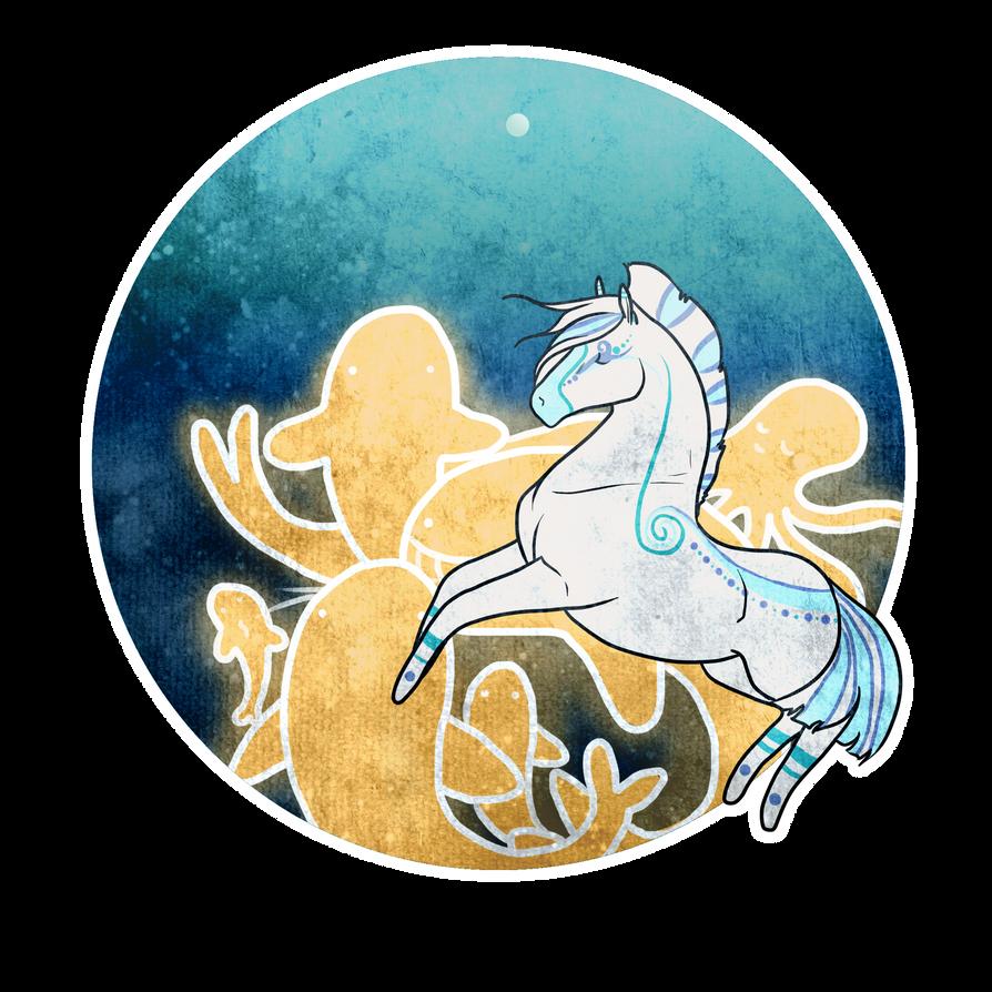 She likes to dance in the sea.. by RinaKisaragi