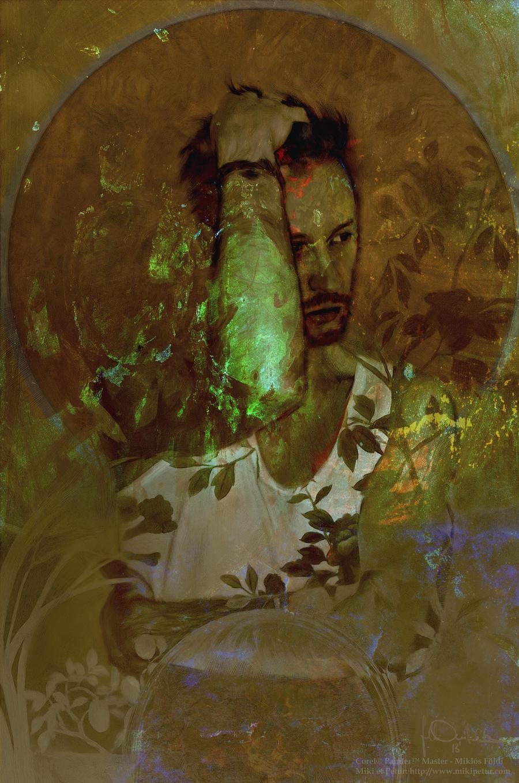 self portrait II. by miklosfoldi