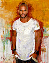 Ricky Whittle by miklosfoldi