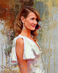 Laura Dern by miklosfoldi