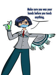 Tenya Spreads Some Advice