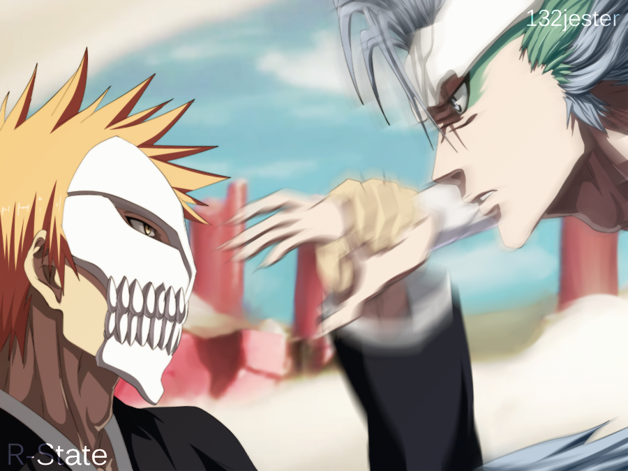 Ichigo Vs Grimmjow | Collab by 132Jester