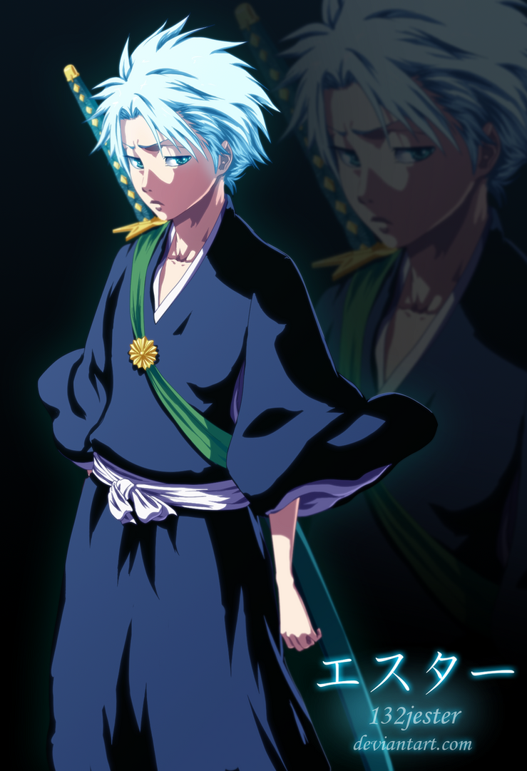 Toushiro Hitsugaya by 132Jester