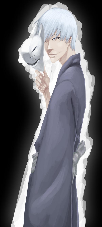 Gin Ichimaru by 132Jester