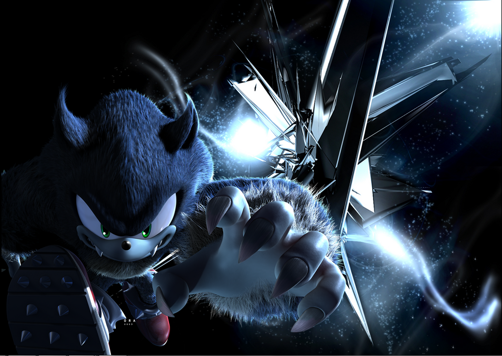 Sonic The Werehog By SDRseries