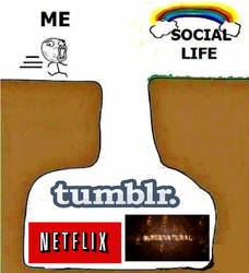 Why I Will Never Have A Sufficient Social Life. by Anon-Fox