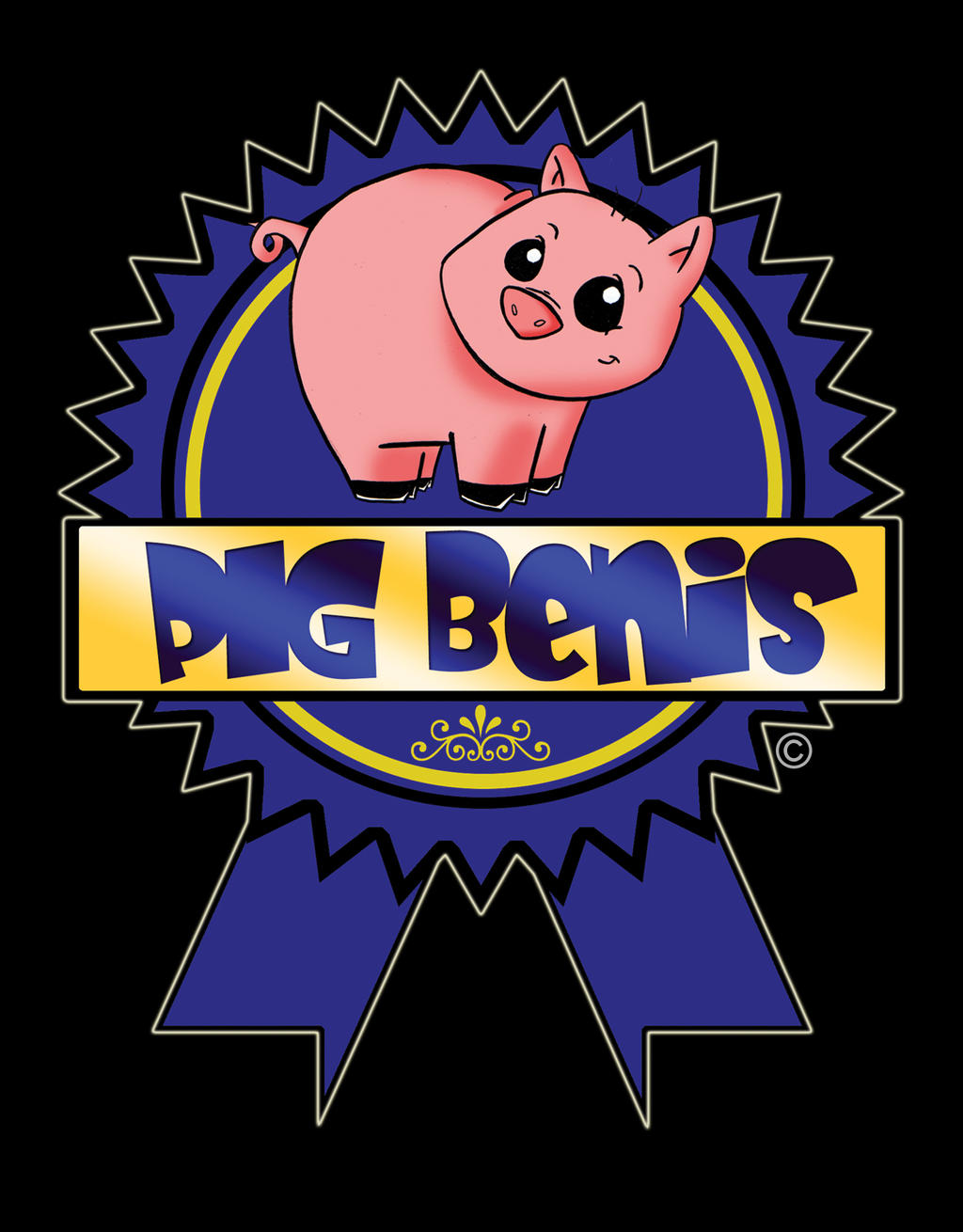 PBR: Pig bENIS Ribbon by ~frankenstylin on deviantART pbr wallpaper