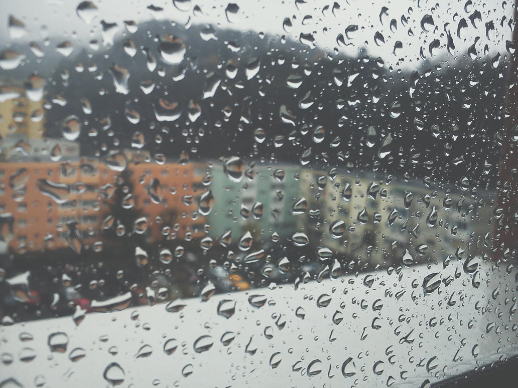 Rain drops by deyush08