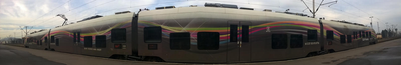 This train is like a fucking spaceship by deyush08