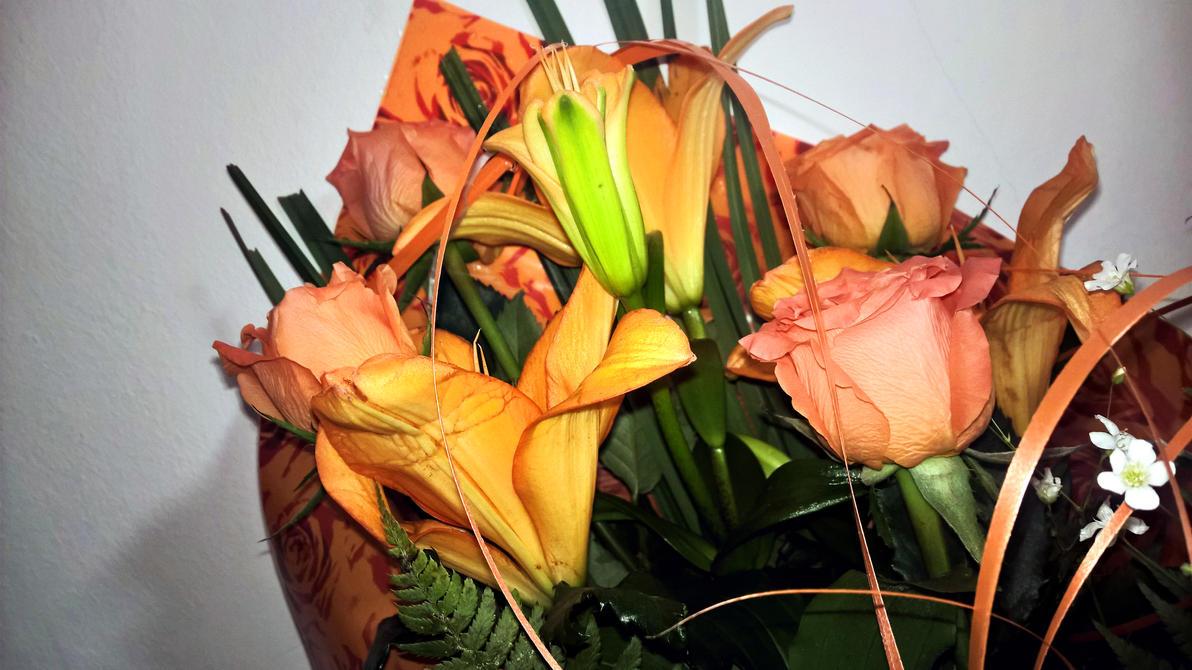 Beautiful flowers by deyush08
