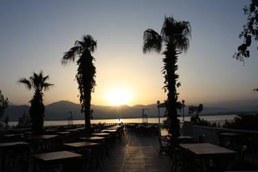 Sunrise at Restaurant by MaeraFey