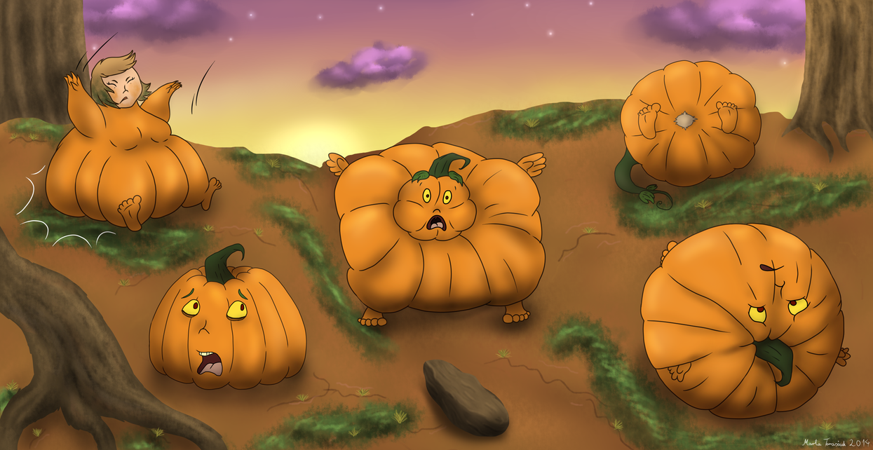 The transformation of pumpkin