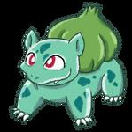 Daily Drawing #1: Bulbasaur